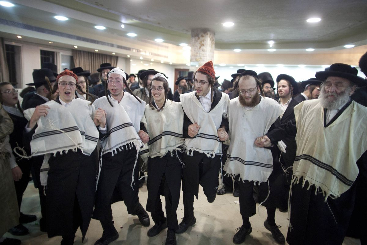 Impressive photos of an ultra-orthodox Jewish wedding