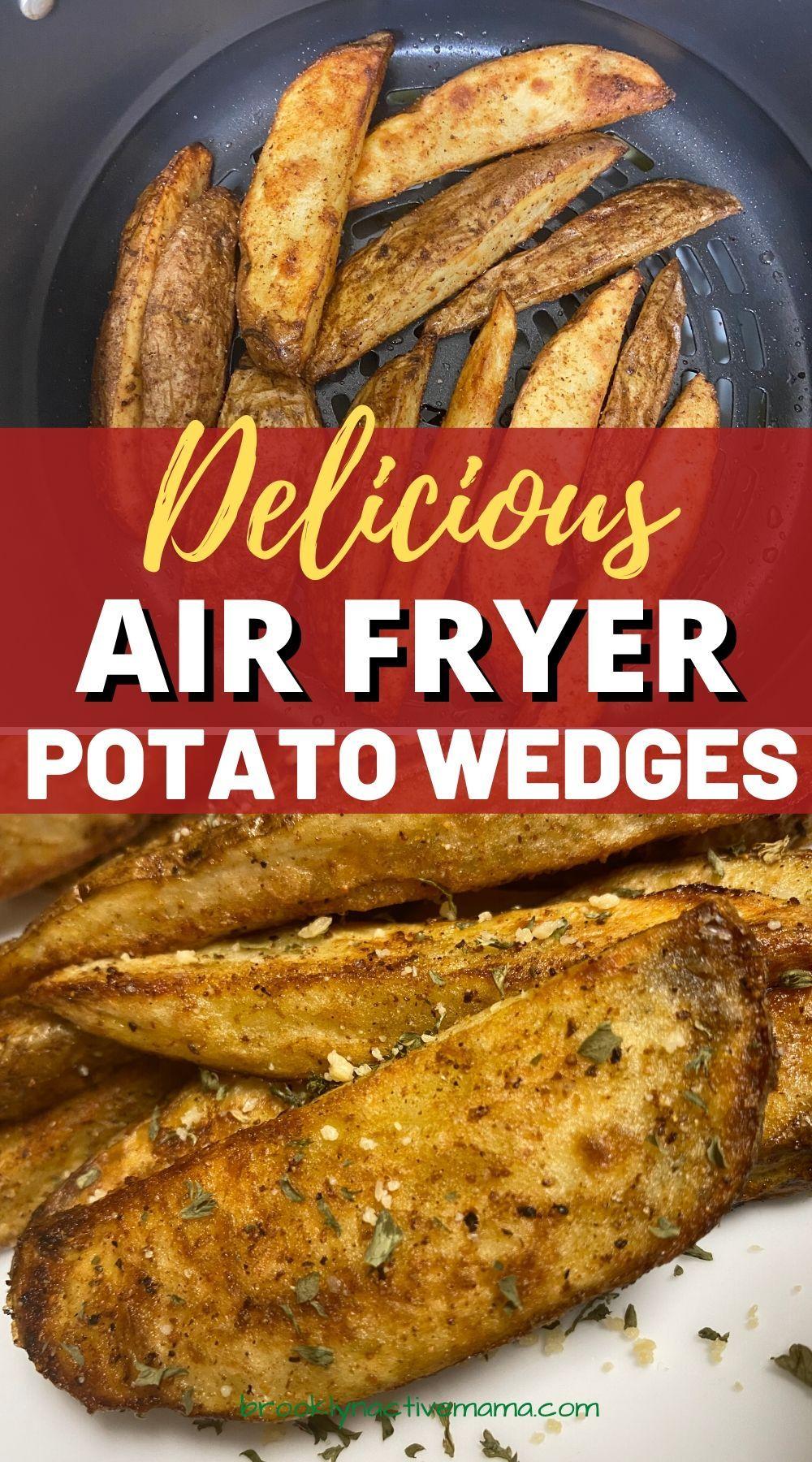 Air Fryer Seasoned Potato Wedges in 2020 Air fryer