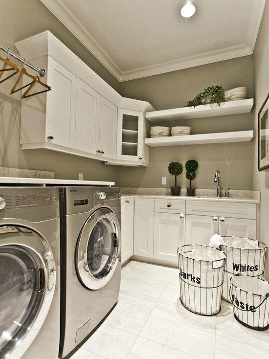 22 Laundry Room Ideas Decoholic Laundry In Bathroom Dream Laundry Room Laundry Room Design