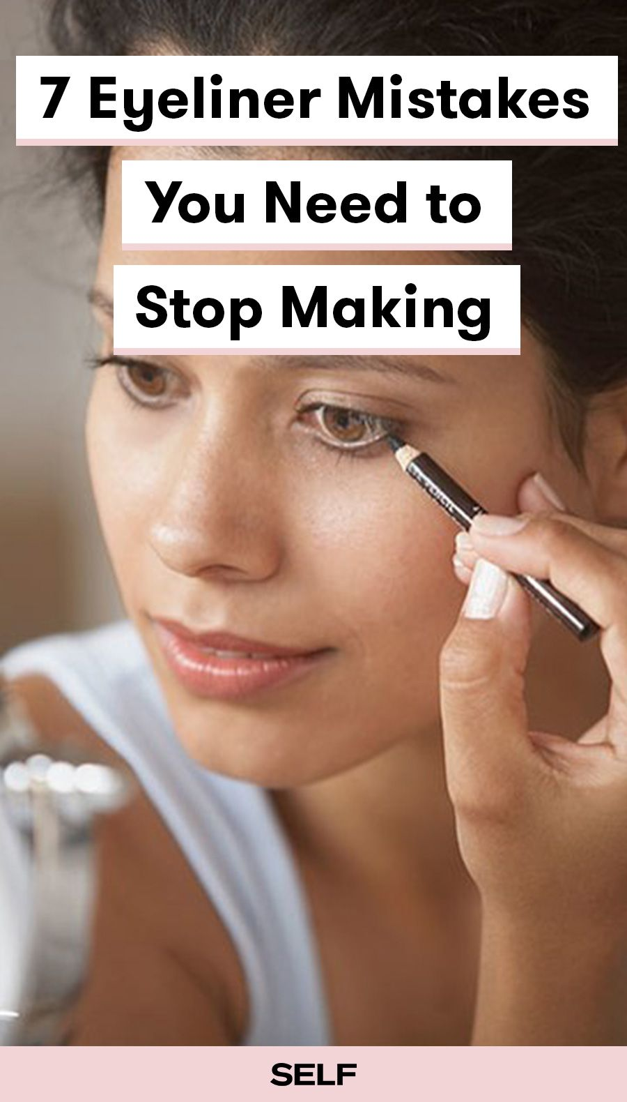 7 Eyeliner Mistakes You Need to Stop Making Makeup for