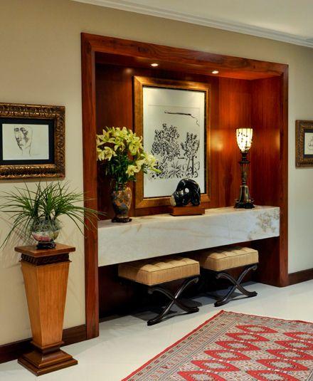consolas de madera para sala - Buscar con Google entrance