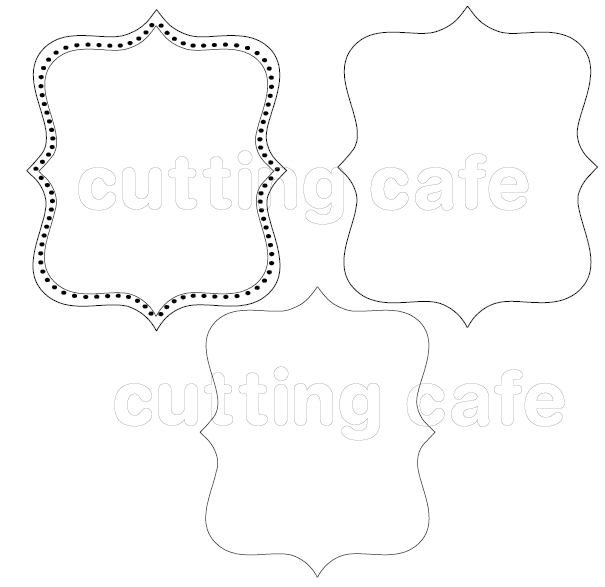 Printable Frame Clip Art for Digital by SquiggleDotDesigns