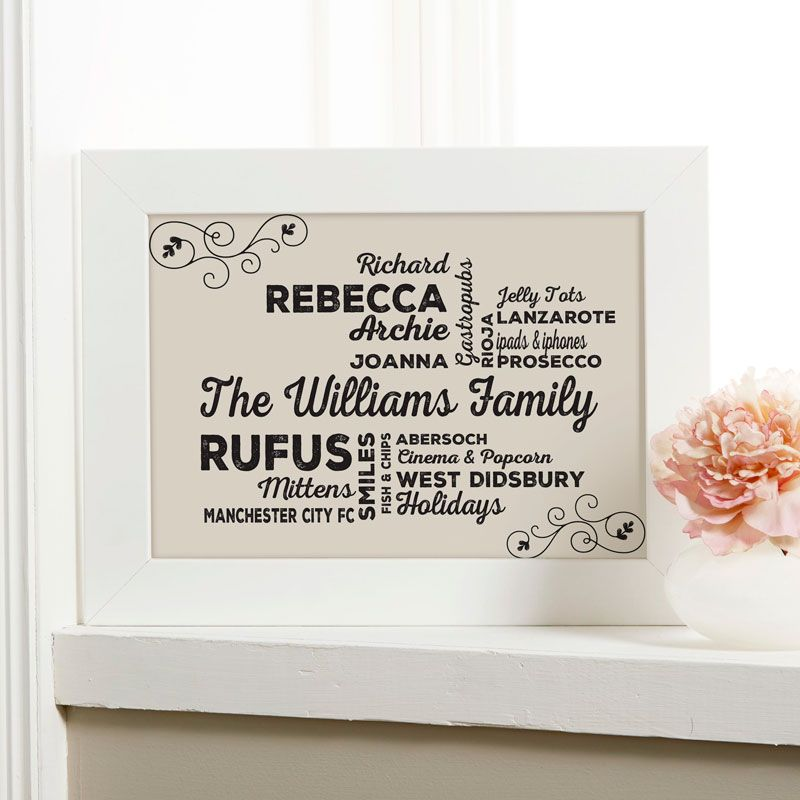 beautiful personalized word art prints canvases easy to create preview on screen before