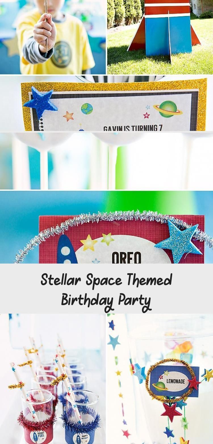 Photo of Stellar Space Themed Birthday Party #PartyDecorations2020 –  Stellar Space Theme…