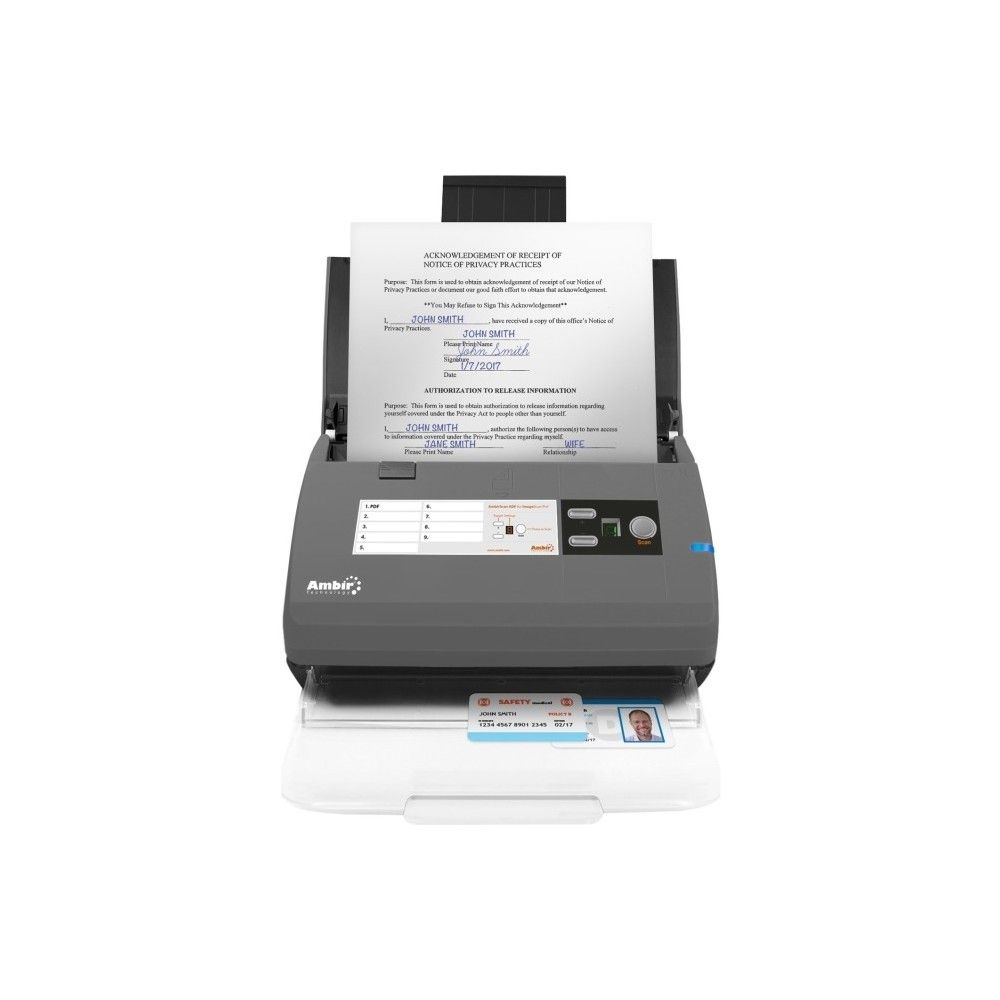 ImageScan Pro 830ix for use with athenahealth - 48-bit Color