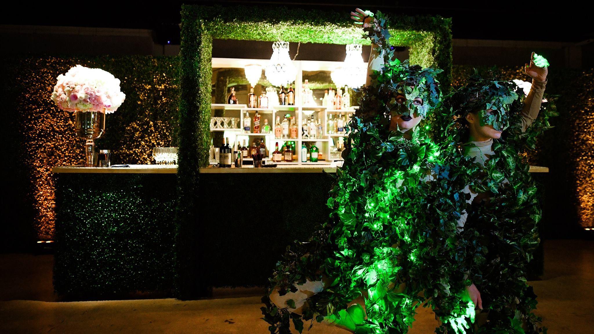 Garden event decor  Extravagant Masquerade Bat Mitzvah Photography at Gallery of Amazing