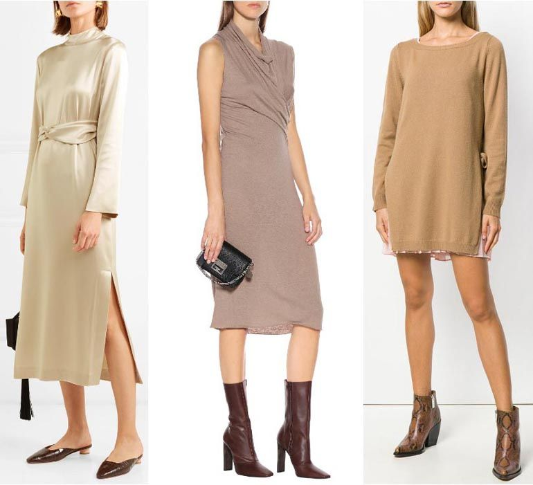 What Color Shoes To Wear With A Beige Dress Outfit Beige Dress Outfit Beige Dresses Outfits