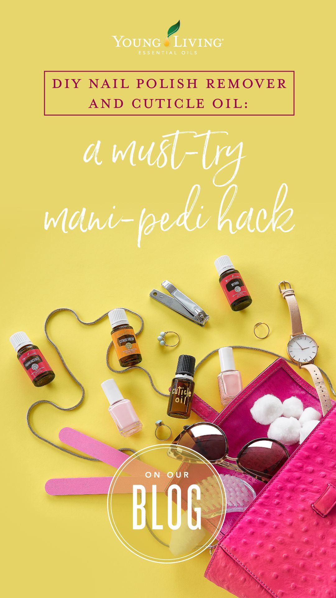 Diy nail polish remover and cuticle oil a musttry mani