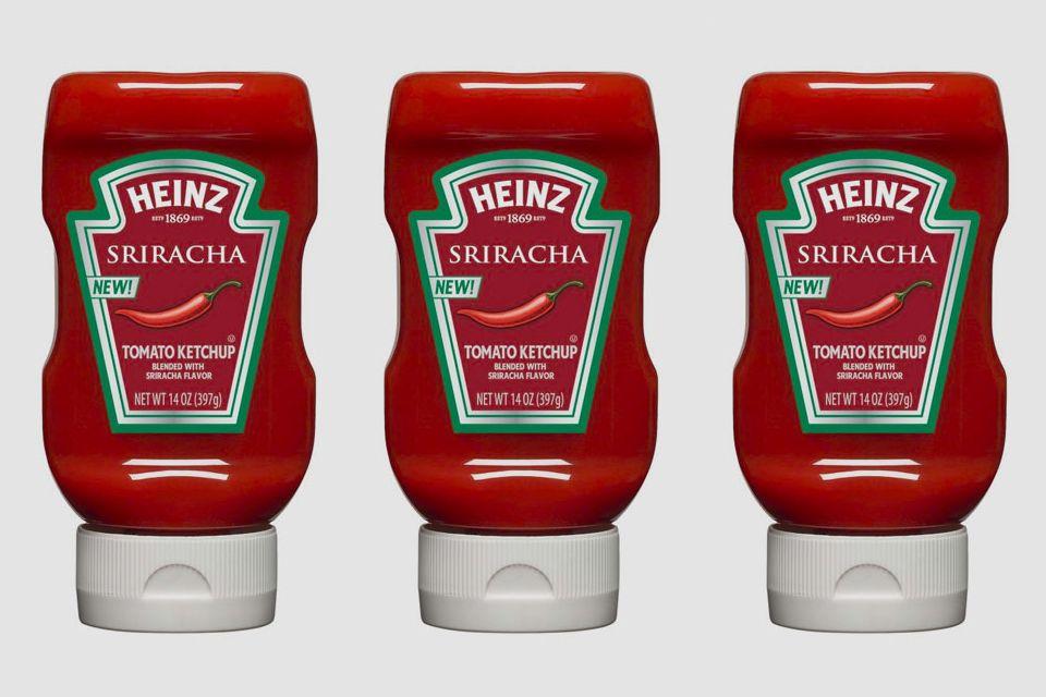 Heinz srirachaflavored ketchup joes daily ketchup