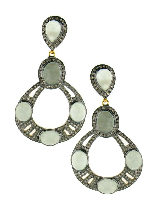 Open Teardrop Earrings At Jennifer Miller Jewelry