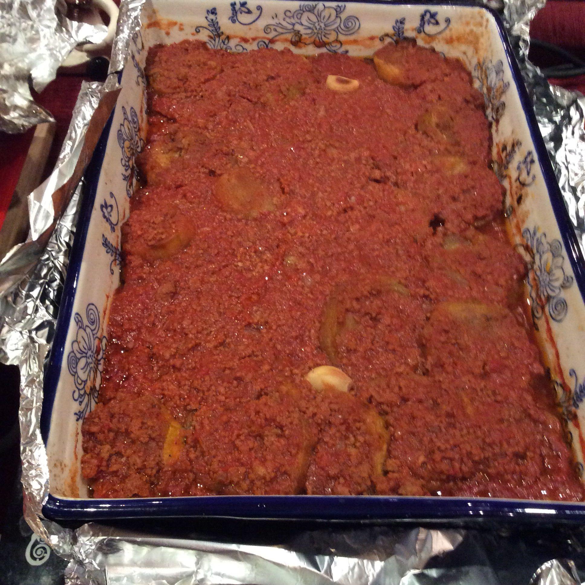 Mosaka مسقعة باللحم المفروم Food Meatloaf Meat