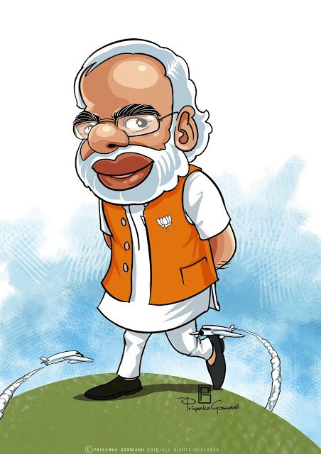 Narendra Modi Funny Cartoon Photos : narendra, funny, cartoon, photos, Wallpaper, Ideas, Cartoon,, Caricature,