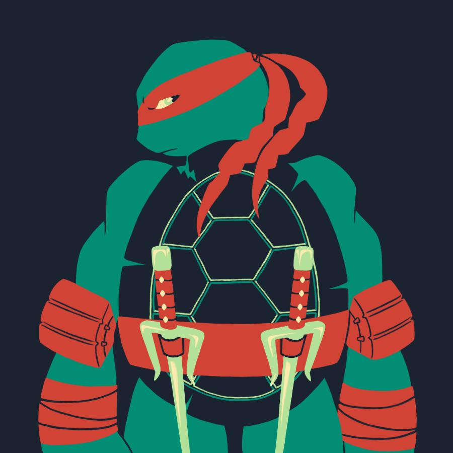 Raphael Fan Art Teenage Mutant Ninja Turtles Funny Tmnt Artwork
