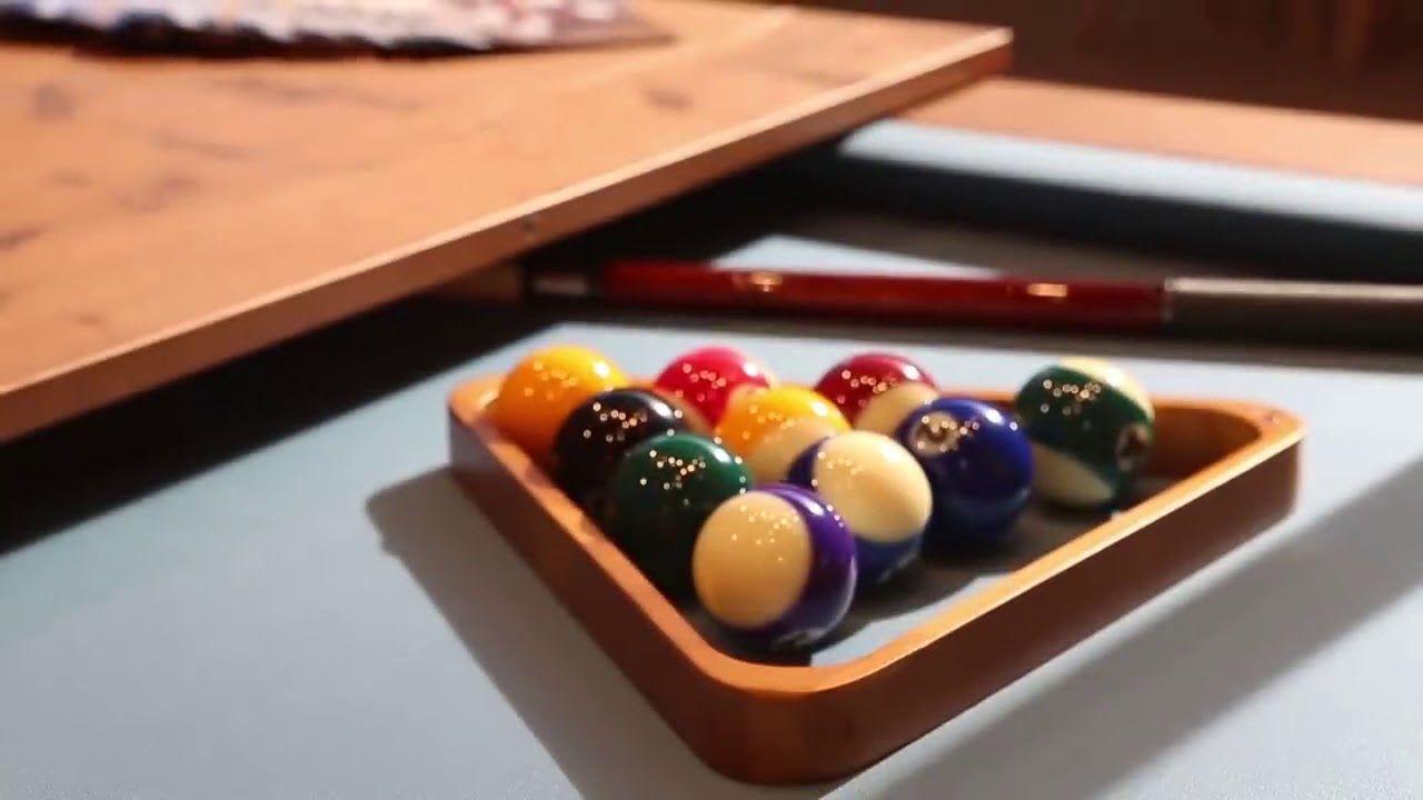Mesa multifuncional que puede ser utilizada como billar, comedor o ...
