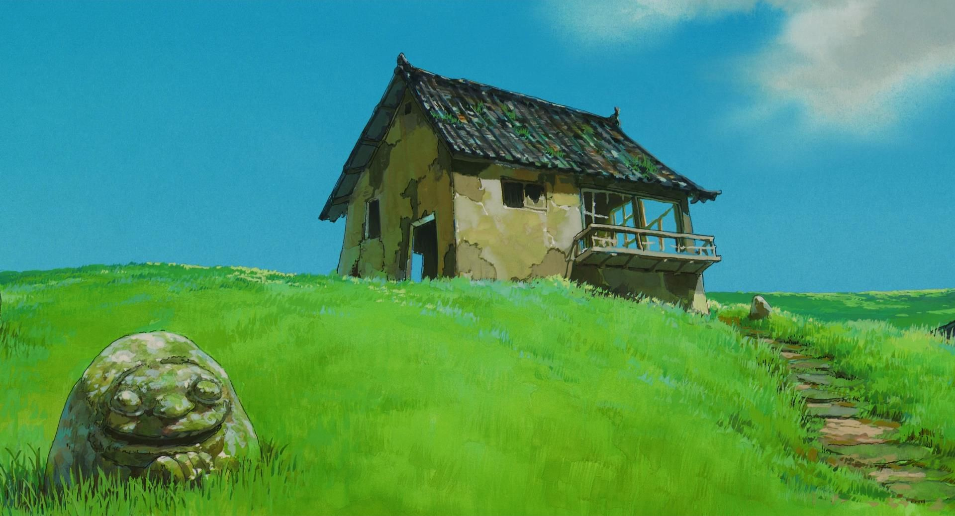 Spirited Away scenery wallpapers. Artist Kazuo Oga in