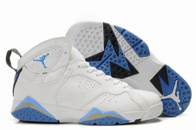 Air Jordan Shoes 7 White/Blue For Sale,Cheap Jordans