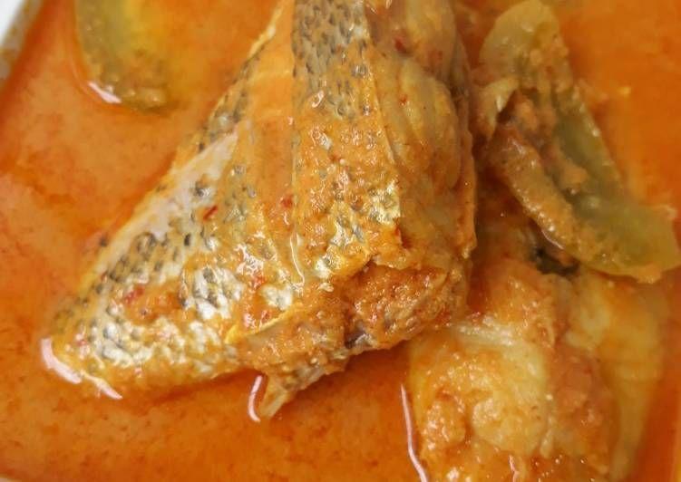 Resep Gulai Ikan Kakap Pedas Ala Padang Oleh Annisa Mardatillah Resep Gulai Resep Resep Masakan