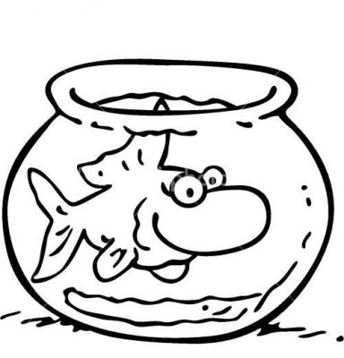 Fish Bowl Coloring Page - ClipArt Best zentangle Pinterest - best of catfish coloring page