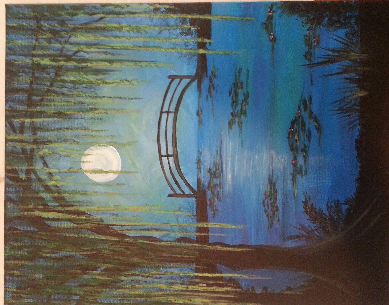 Carol Lumpkin, Paint N Party,  Hiawassee GA.