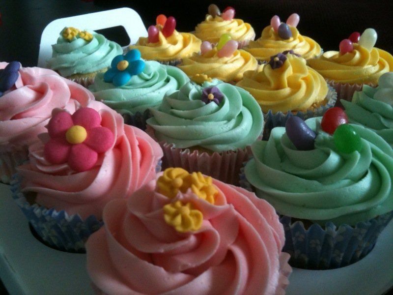 Lekker cupcakes.