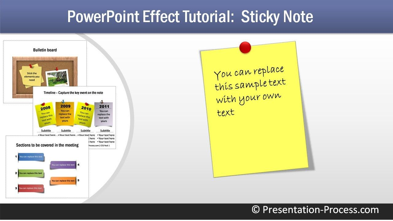 How to create sticky note powerpoint tutorial series microsoft how to create sticky note powerpoint tutorial series baditri Image collections