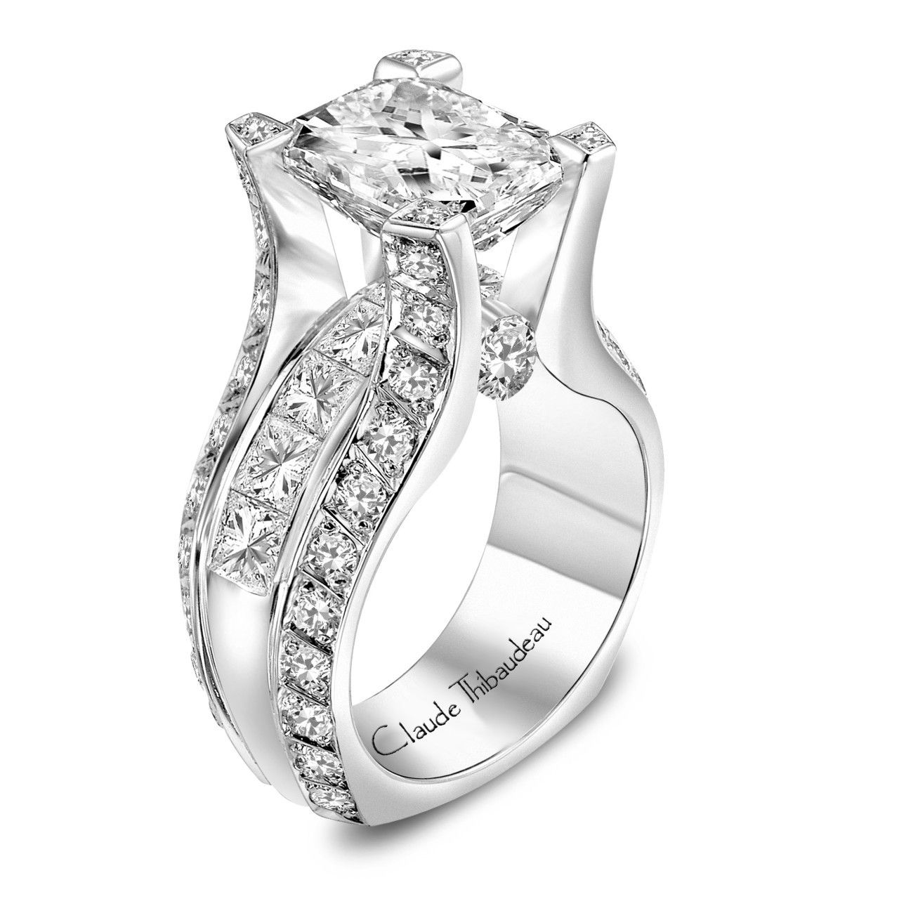 ring two mod knot diamond engagementdetails cfm accents engagement celtic with rings tone