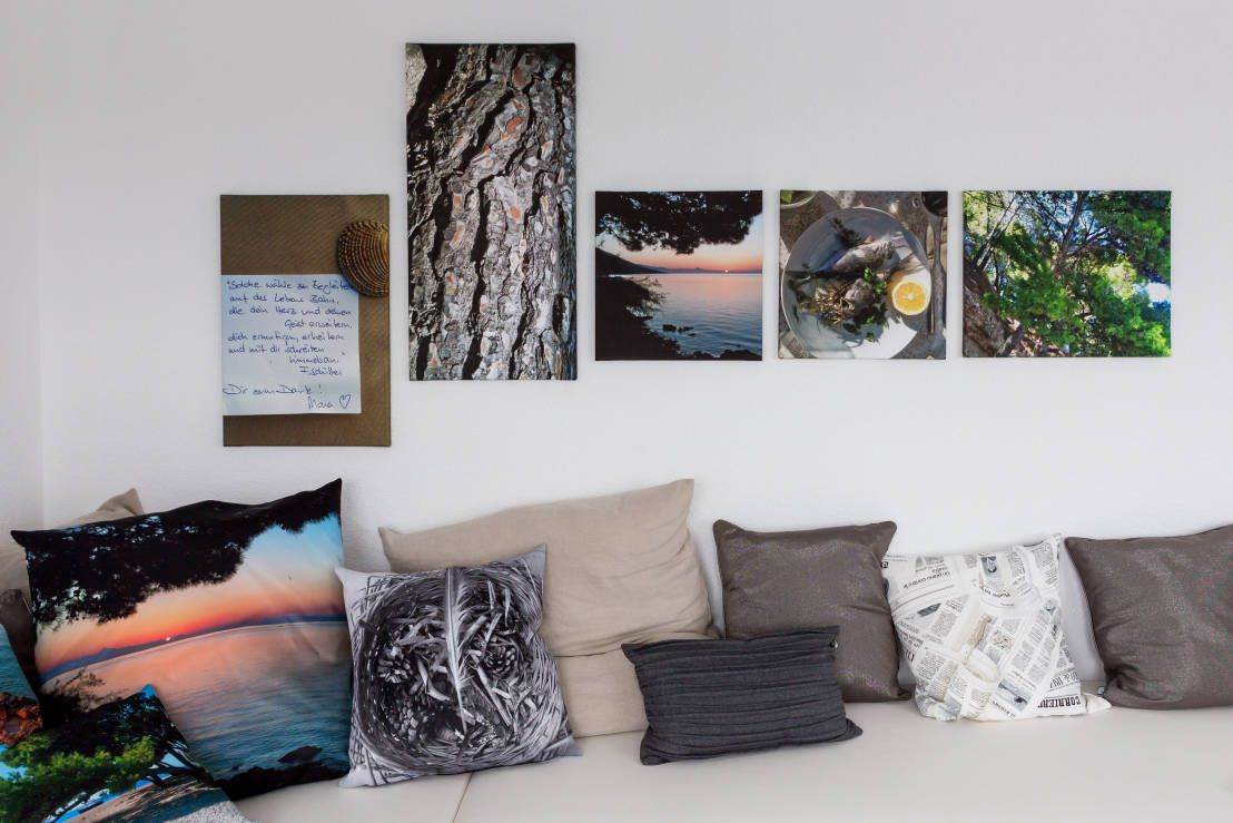 Ob Leinwanddruck Oder Ölgemälde   Kahle Wände In Unserem Wohnzimmer Können  Wir Auf Vielfältigste Weise Gestalten. Bei Homify Findet Jeder Die  Passenden ...