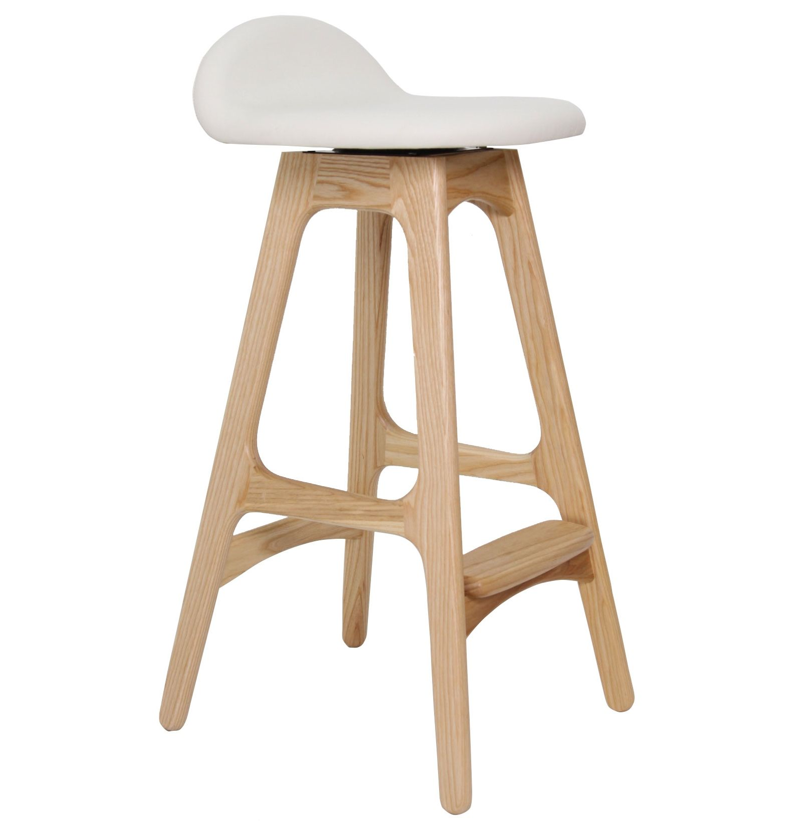 Replica Erik Buch Bar Stool 66cm With Swivel Ash