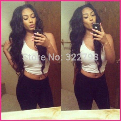 Free shipping!!100%brazilian u part wig virgin hair loose body wave natural black 6A upart wigs for black women 130%-180%density