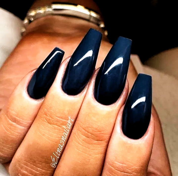 Nails Acrylic Fall Colors Nails Acrylic Fall Colors In 2020 Coffin Nails Makeup Nails Designs Acrylic Nails Coffin