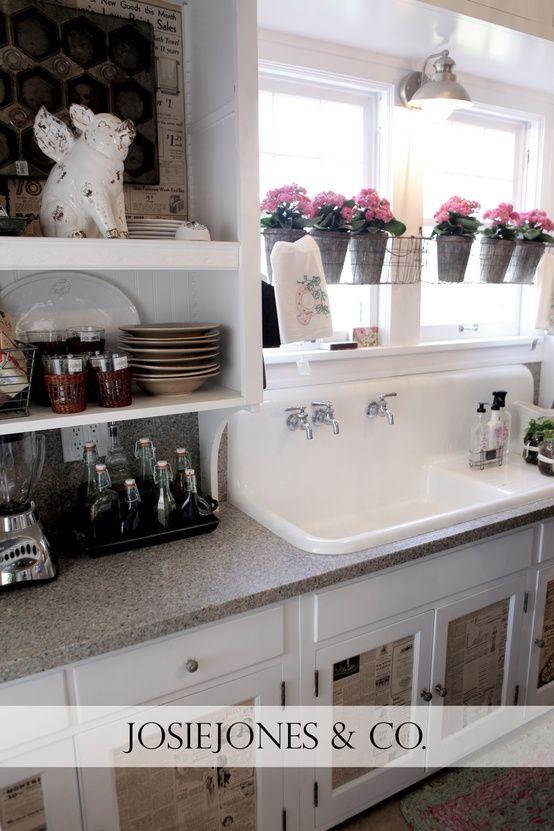 High Back Kitchen Sinks Muraca Design Sweet Home Cottage Kitchen Home Remodeling