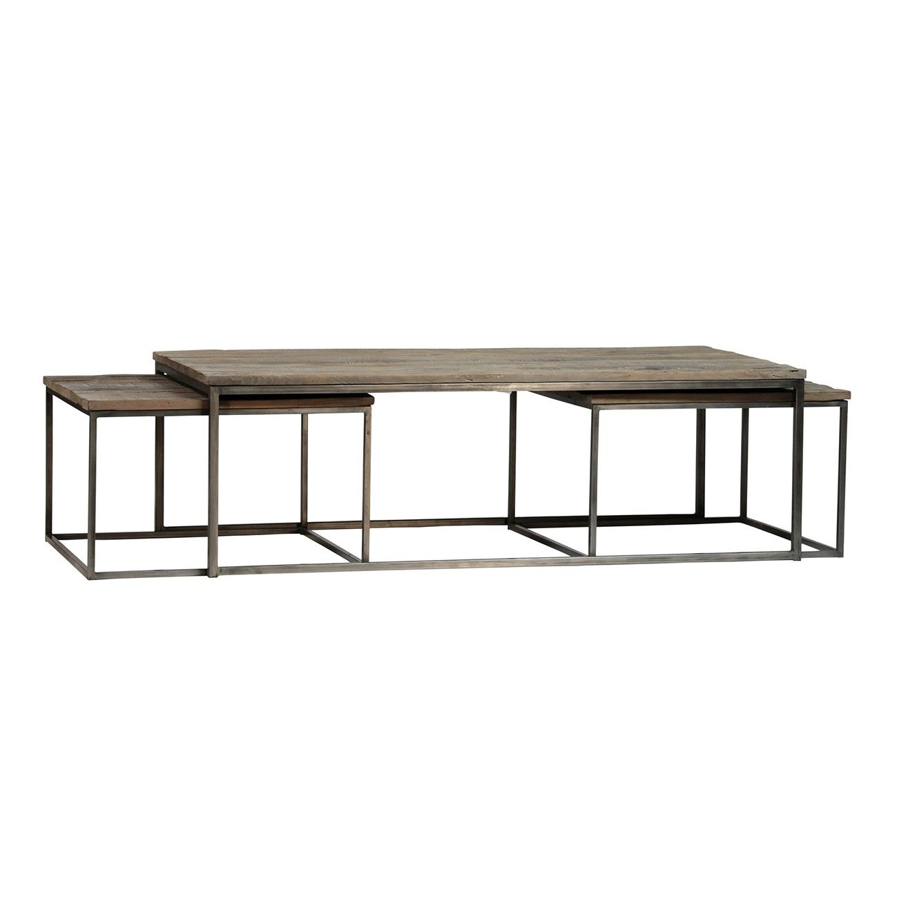 Kirk Coffee Table Set Of 3 Coffee Table Coffee Table Setting Table [ 1299 x 1299 Pixel ]