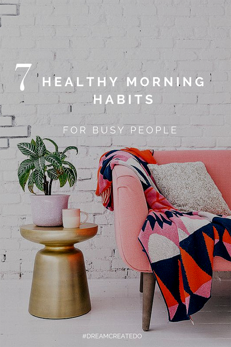 7 healthy morning habits for busy people www for Farbwirkung raumgestaltung