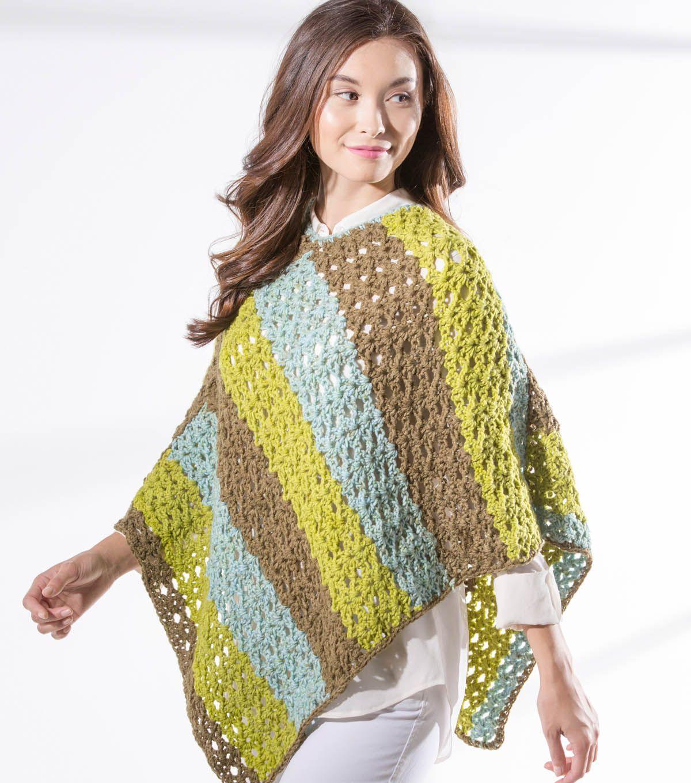 How To Make A Star Stitch Crochet Ponchonull | Crochet | Pinterest