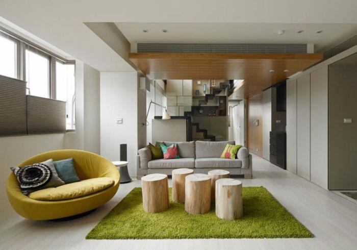 1001 ideas de decoracin de salones minimalistas Salones