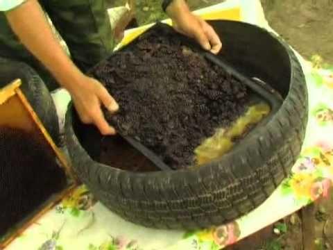 парник- Применение автопокрышек в саду - YouTube