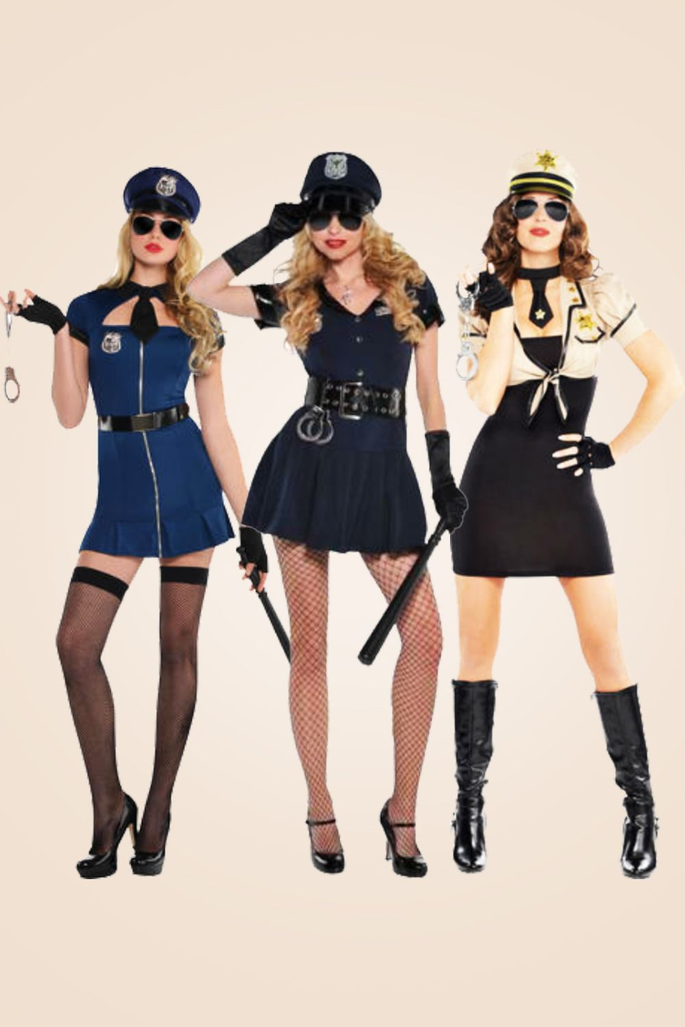 Halloween 2020 Cops Details about Police Womens Fancy Dress Officer Cop Constable