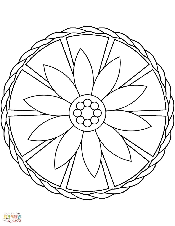 Simple Mandala Coloring Pages Mandala Coloring Mandala Coloring Pages Flower Coloring Pages