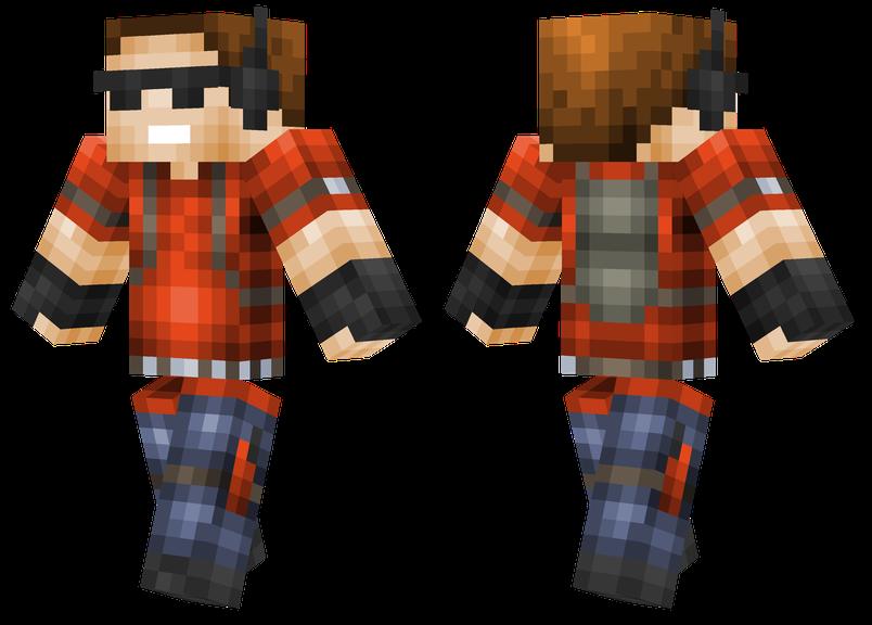 Griefer Minecraft, Minecraft skins, Minecraft 1