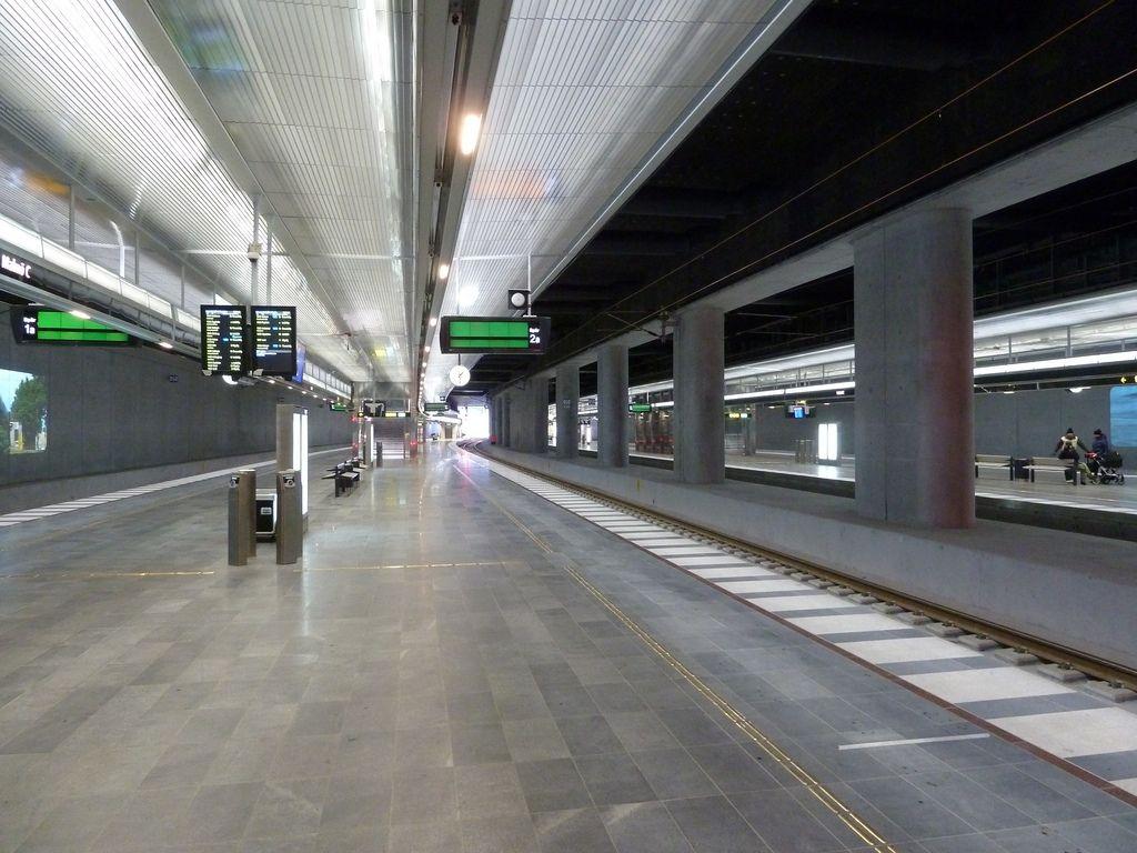Centralen plattform