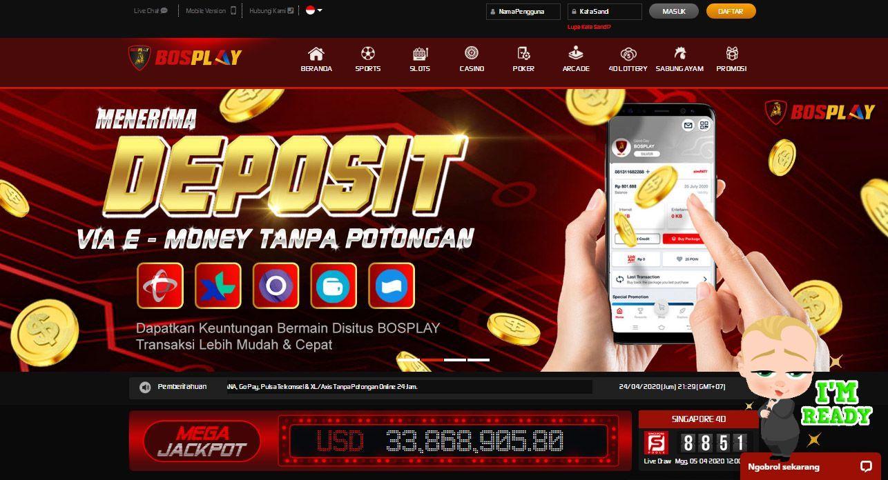 Agen Bola Terpercaya Bosplay Cara Deposit Disitus Bosplay Poker Kasino Website