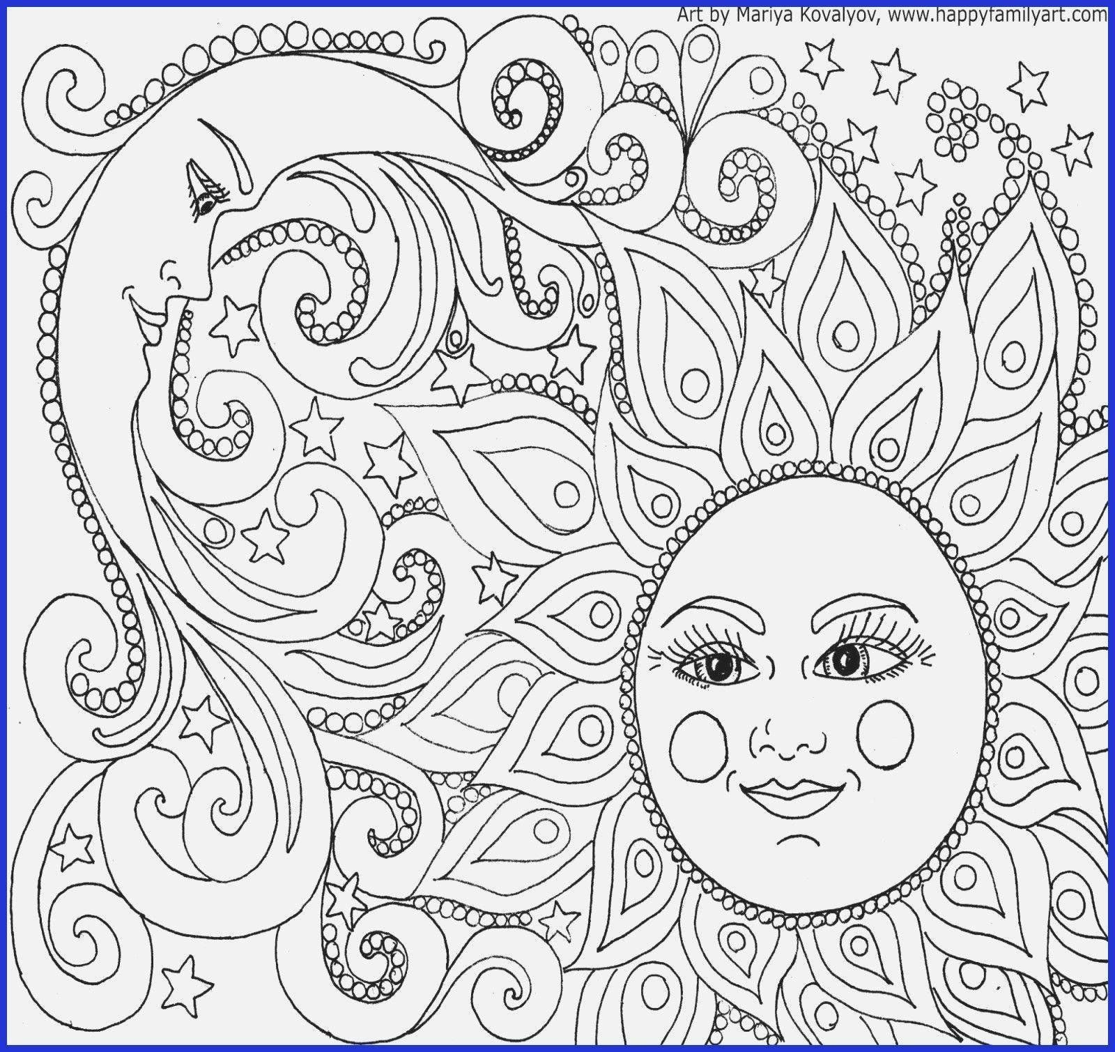 Free Printable Coloring Pages For Adults Advanced Dragons Best Of New Free Printable Colorin In 2020 Moon Coloring Pages Mandala Coloring Pages Abstract Coloring Pages