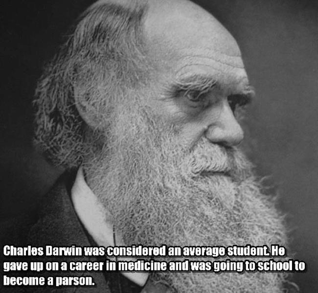 Charles Darwin.