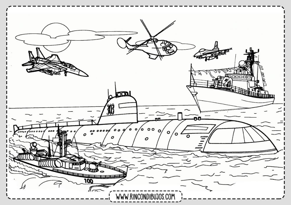 Dibujo Submatino Para Colorear Rincon Dibujos Barcos Para Dibujar Dibujo De Barco Barcos Para Colorear