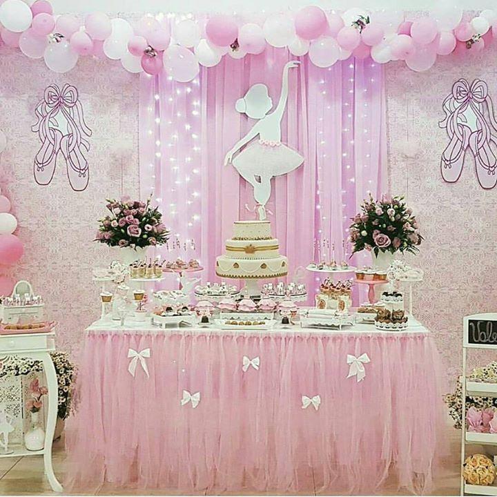 Mesa De Bailarina Decoracion Ballerina Birthday Parties