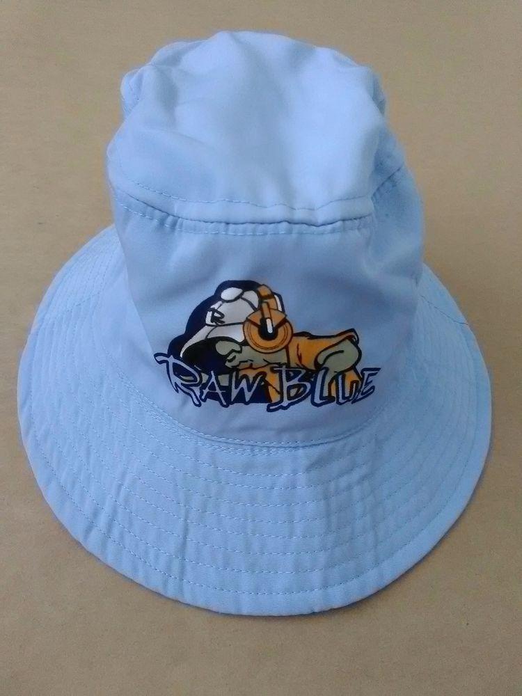 a2a18094d6d89 vintage raw blue dj bucket hat hiphop bboy streetwear 90s y2k fubu rocca   fashion
