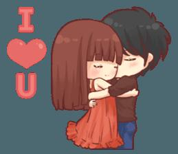 Special Happy Wedding Sticker 14143002 Happy Wedding Cute Love Cartoons Cute Love Gif