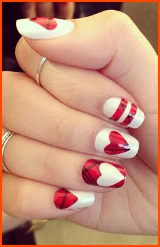 Easy Valentine Nail Art | Easy Nail Designs for Kids that Cute and ...
