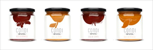 25 Sweet Jam Jar Labels Packaging Design Ideas 식품 포장