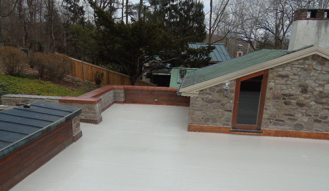 Fiberglass roof deck bucks county pa Fibreglass roof